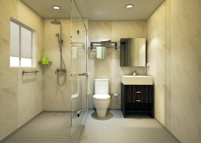 UB1618型(xing)整體(ti)浴室